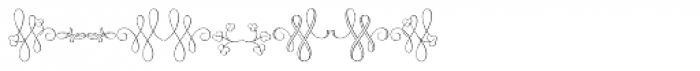 MFC Klaver Monogram 1000 Impressions Font OTHER CHARS
