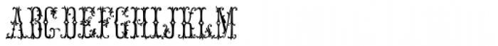 MFC Manoir Monogram (10000 Impressions) Font LOWERCASE