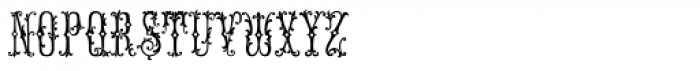 MFC Manoir Monogram (250 Impressions) Font LOWERCASE