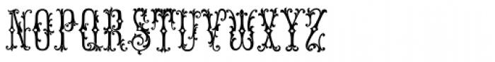 MFC Manoir Monogram (25000 Impressions) Font UPPERCASE