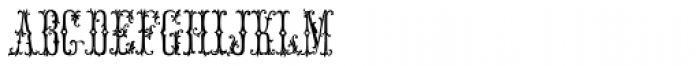 MFC Manoir Monogram (25000 Impressions) Font LOWERCASE