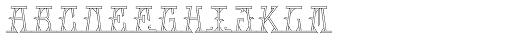 MFC Mastaba Monogram Basic 10000 Impressions Font LOWERCASE