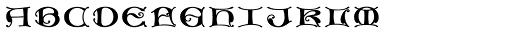 MFC Medieval Monogram Stack 10000 Impressions Font LOWERCASE