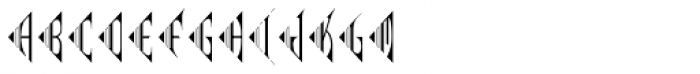 MFC Pantomime Monogram (1000 Impressions) Font UPPERCASE