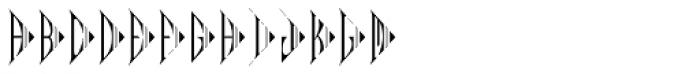 MFC Pantomime Monogram (1000 Impressions) Font LOWERCASE