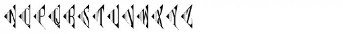 MFC Pantomime Monogram (25000 Impressions) Font UPPERCASE