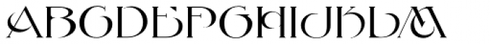 MFC Petworth Monogram Font LOWERCASE