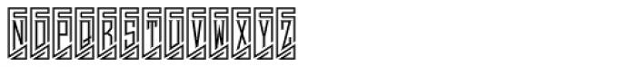 MFC Piege Monogram Un Font UPPERCASE