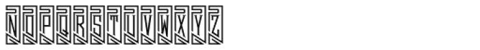MFC Piege Monogram Un Font LOWERCASE