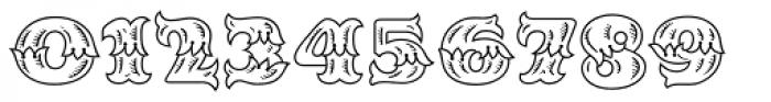MFC Redding Monogram Font OTHER CHARS