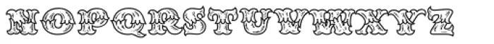 MFC Redding Monogram Font LOWERCASE