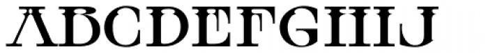 MFC Tattersaw Monogram Font UPPERCASE
