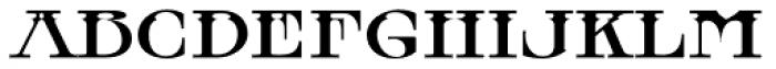 MFC Tattersaw Monogram Font LOWERCASE