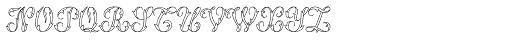 MFC Thornwright Monogram 10000 Impressions Font LOWERCASE