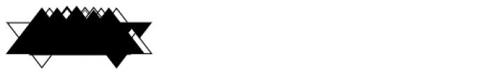 MFC Triangulus Monogram 1000 Impressions Font OTHER CHARS