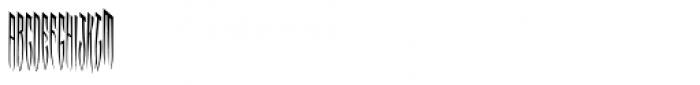 MFC Viper Monogram (250 Impressions) Font LOWERCASE