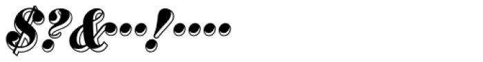 MFC Westport Monogram 1000 Impressions Font OTHER CHARS