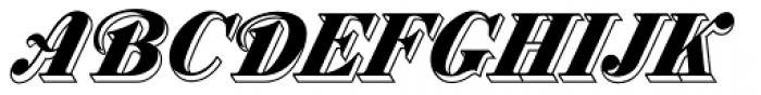 MFC Westport Monogram 1000 Impressions Font UPPERCASE