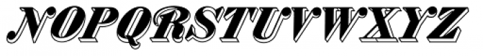 MFC Westport Monogram 1000 Impressions Font LOWERCASE