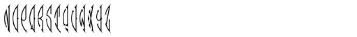 MFC Zulu Monogram 10000 Impressions Font UPPERCASE