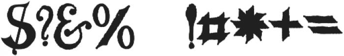 MGH VINOLIAN otf (400) Font OTHER CHARS