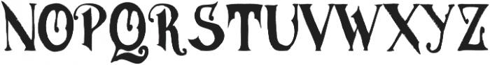 MGH VINOLIAN otf (400) Font LOWERCASE