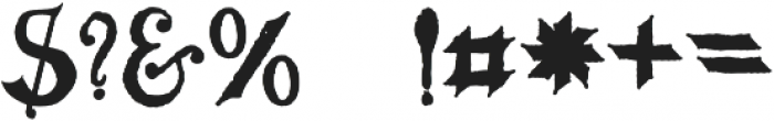 MGH VINOLIAN otf (700) Font OTHER CHARS