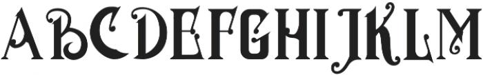MGH VINOLIAN otf (700) Font LOWERCASE
