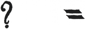 MGH vinolian otf (500) Font OTHER CHARS