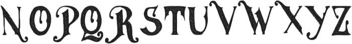 MGH vinolian otf (500) Font UPPERCASE
