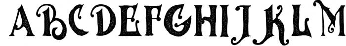 MGH vinolian HandDrawn Clean & Rough 1 Font UPPERCASE