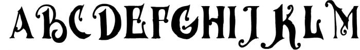 MGH vinolian HandDrawn Clean & Rough 2 Font UPPERCASE