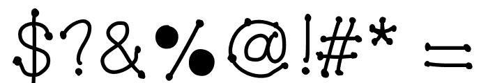 MGDotsandfonts Font OTHER CHARS