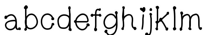 MGDotsandfonts Font LOWERCASE