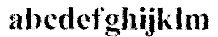 MGFT Times New Halftone Font LOWERCASE