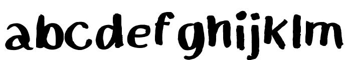 MGchalkwalk Font LOWERCASE