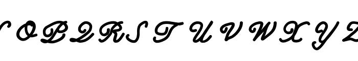MGclassy Font UPPERCASE
