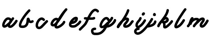 MGclassy Font LOWERCASE