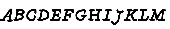 MGfancyfun Font UPPERCASE