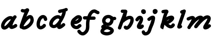 MGfancyfun Font LOWERCASE