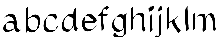 MGhighlightit Font LOWERCASE