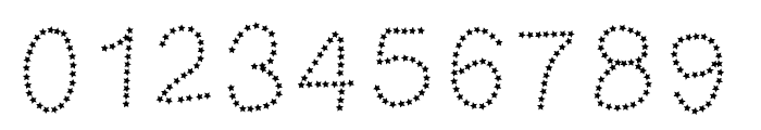 MGtalkingstars Font OTHER CHARS