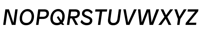 Patron Italic Font UPPERCASE