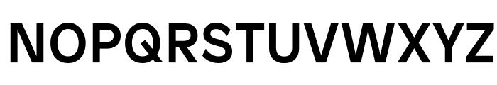 Patron Medium Font UPPERCASE