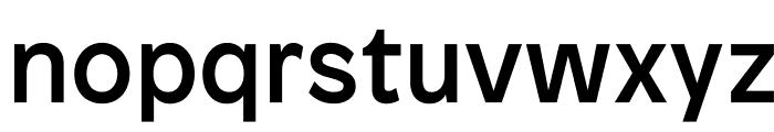 Patron Medium Font LOWERCASE