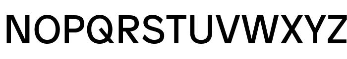Patron Regular Font UPPERCASE