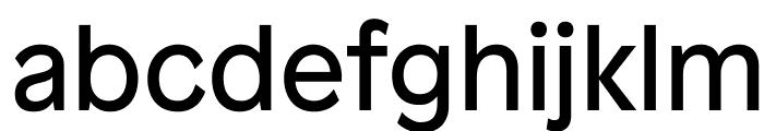 Patron Regular Font LOWERCASE