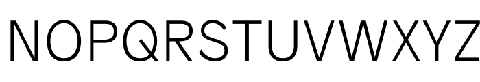 Patron Thin Font UPPERCASE
