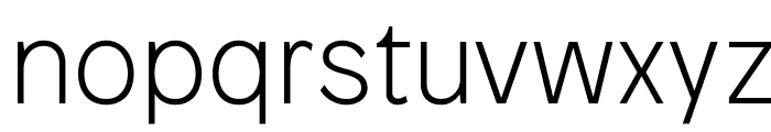 Patron Thin Font LOWERCASE