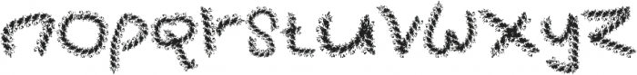 Mhorat otf (400) Font LOWERCASE